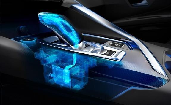 SUV PEUGEOT 3008 HYBRID4 e-EAT8 Getriebe.