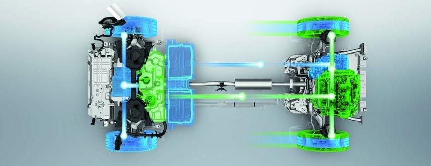 SUV PEUGEOT 3008 HYBRID4 Lithium-Ionen Batterie