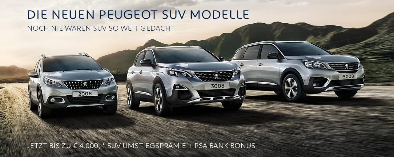 SUV by PEUGEOT