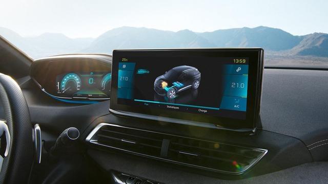 Neuer Plug-In Hybrid PEUGEOT 3008 HYBRID – HD-Touchscreen