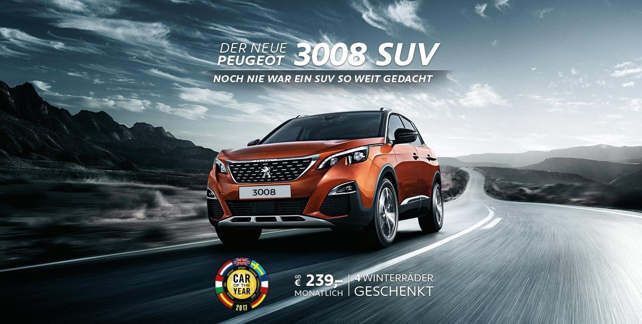 Der Neue 3008 SUV