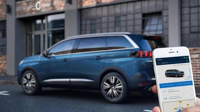 Neuer SUV PEUGEOT 5008 – Connected Services