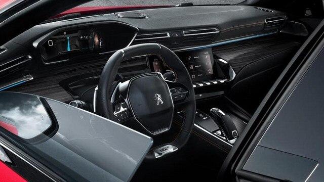 Neue Limousine PEUGEOT 508 GT, rahmenlose Tur