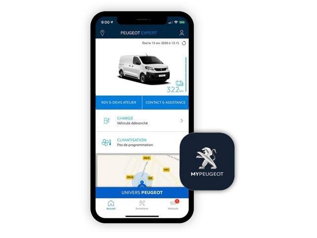 PEUGEOT e-Traveller Business – MyPEUGEOT App