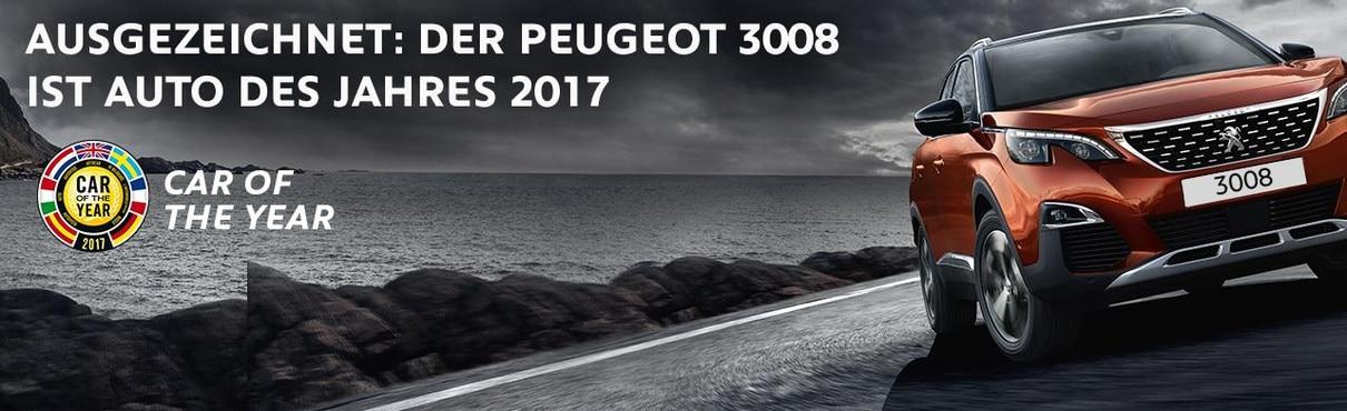 PEUGEOT 3008 COTY
